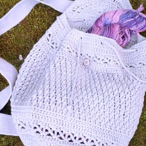 video-making-a-crochet-bag-cotton-gray