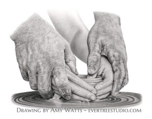 drawing-charcoal-potters-hands-amy-watts