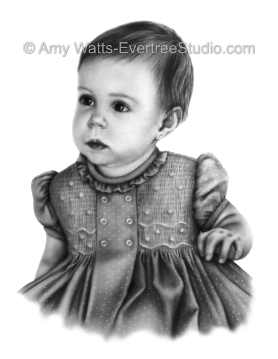 realistic-portraits-of-people-from-photos-baby-girl-amy-watts