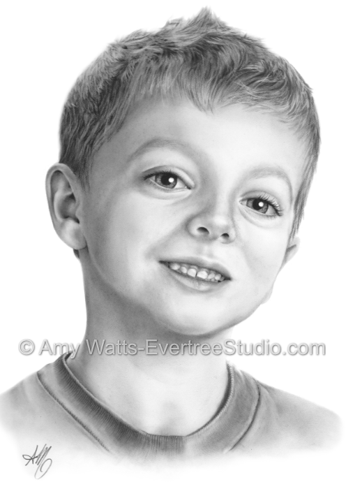 charcoal-drawing-little-boy