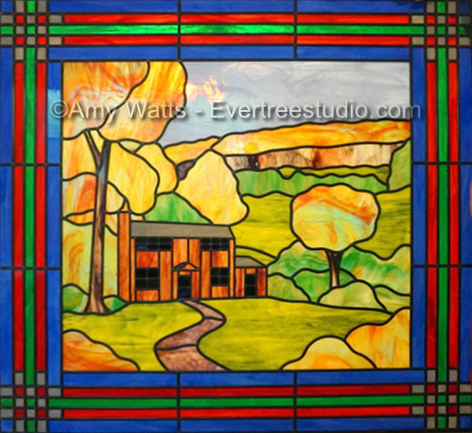stained-glass-highland-cabin